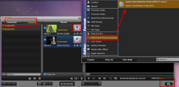 Recent Posts-http://www.aunsoft.com/guide-images/final-mate/mts-to-aic-imovie.jpg