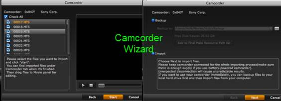 avchd to aic for imovie