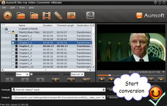 video conversion to iPad
