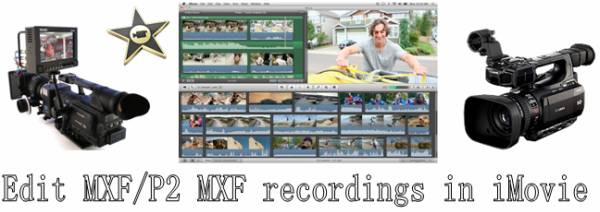import canon mxf files into imovie