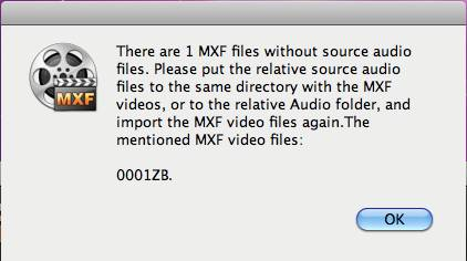 converting p2 mxf to fcp