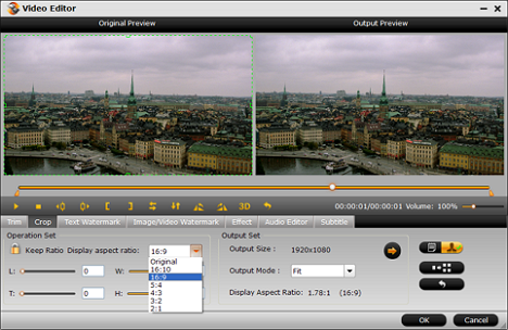 how to change aspect ratio mp4