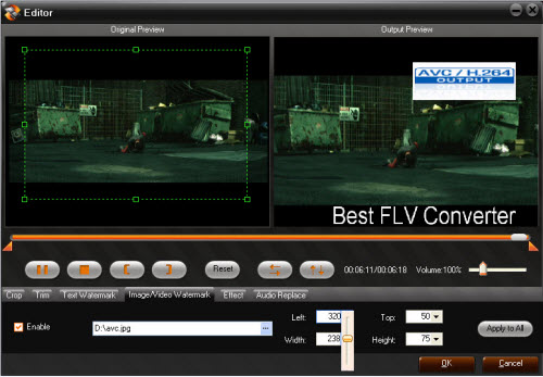 Aunsoft FLV Converter Screenshot