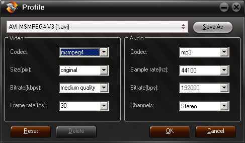Aunsoft MKV Converter Screenshot