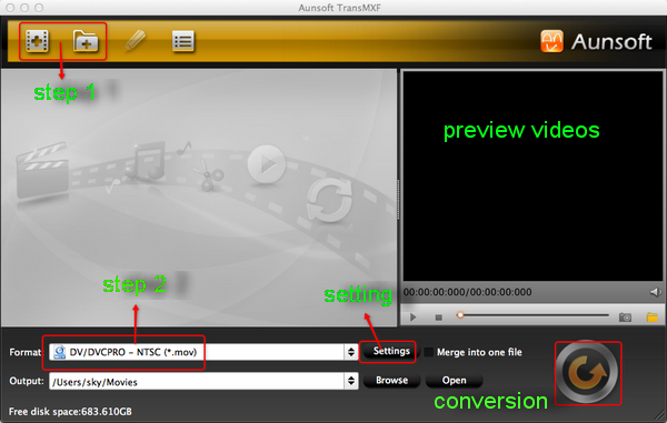 aunsoft transmxf converter for mac
