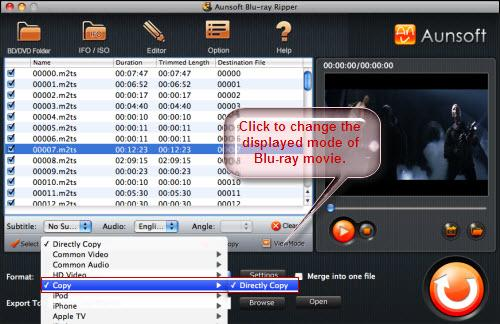 Blu-ray Ripper for Mac Tutorial, Directly Copy