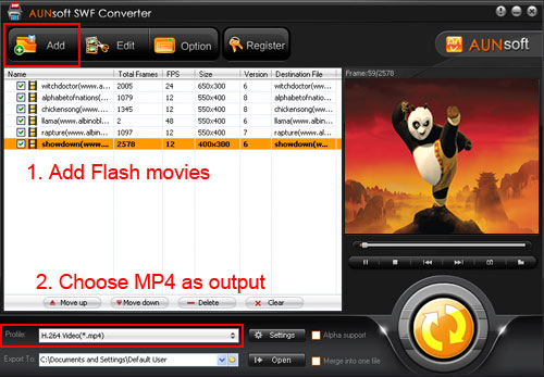 Play Flash Movie SWF on iPad, Flash Movie SWF iPad