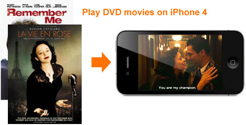 Convert DVD to iPhone 4, DVD Disc iPhone 4