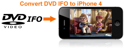 Convert DVD IFO to iPhone 4, DVD IFO iPhone 4 Movie