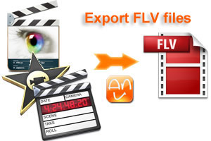 Export Movie from FCP to FLV, Export FCP Movie FLV