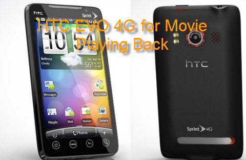Put Movie/Music on HTC EVO 4G, Play Video on HTC EVO 4G