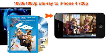 Convert Blu-ray Movies to 720p HD iPhone 4, Blu-ray iPhone 4 720p Global