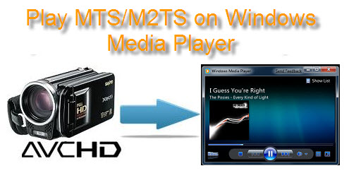 Play MTS/M2TS in Windows Media Player