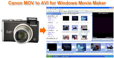 Canon Windows Movie Maker