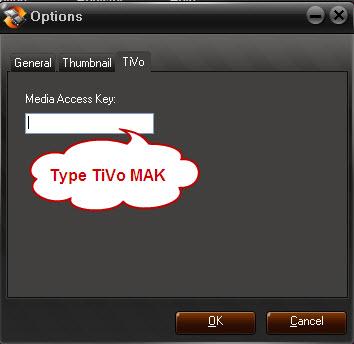Type TiVo Mak
