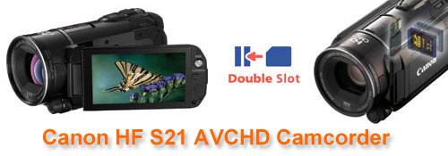 Convert Canon HF S21 MTS files to QuickTime H 264 MOV - Le