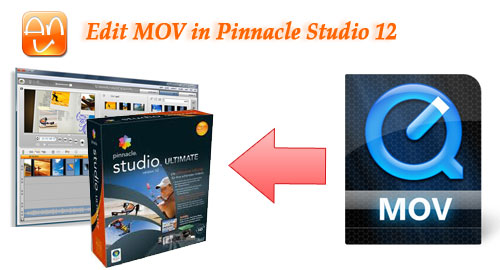 Edit MOV in Pinnacle Studio