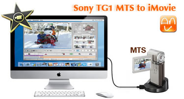 Sony HDR-TG1 MTS to iMovie