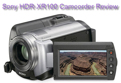Sony HDR-XR100 Review
