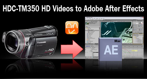 HDC-TM350 After Effects Mac