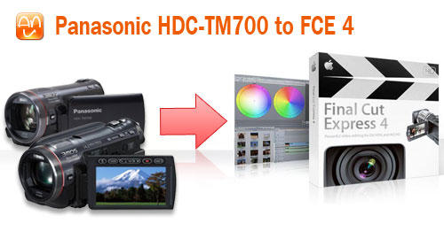 HDC-TM700 to Final Cut FCE4