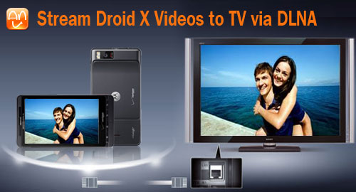 Droid X Videos to TV Dlna