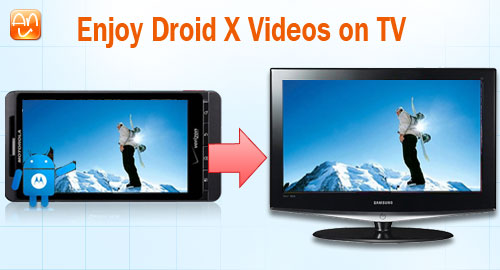 Enjoy Droid X Videos on TV