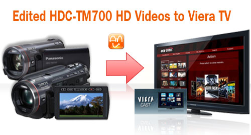 HDC-TM700 to Viera 3D HDTV