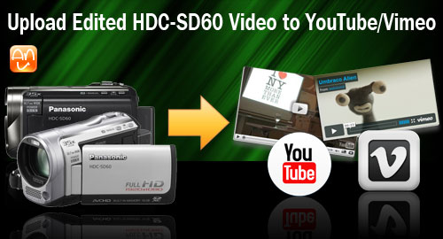 HDC-SD60 MTS YouTube Vimeo
