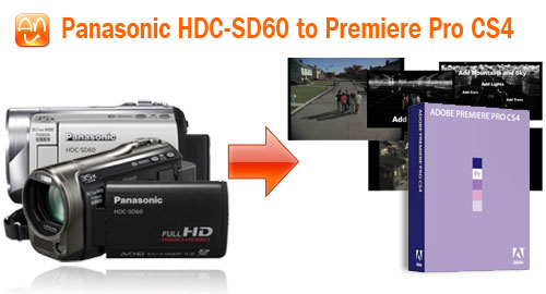 HDC-SD60 MTS Premiere CS4