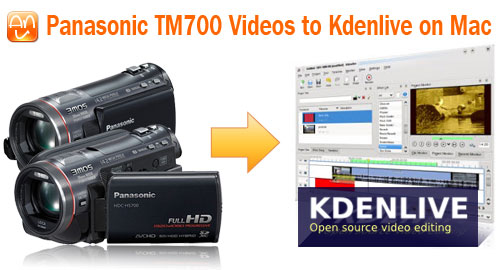 TM700 MTS to Kdenlive Mac