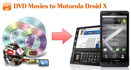 DVD Movies Motorola Droid X