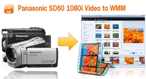 HDC SD60 1080i Video to WMM