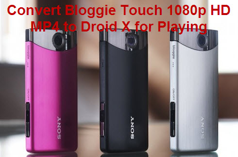 Play Bloggie Touch Movie Droid X