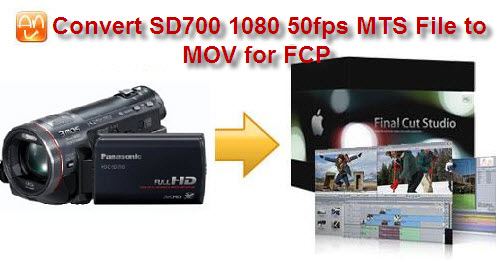 SD700 50p to MOV FCP