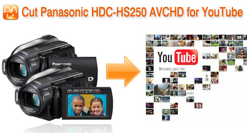 HDC-HS250 AVCHD for YouTube
