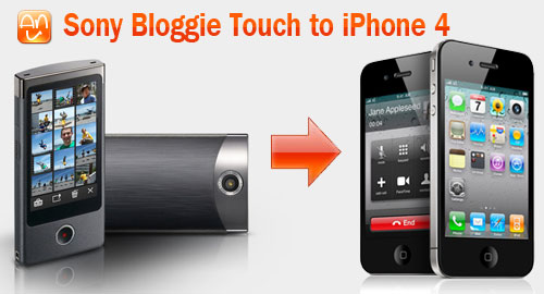 Bloggie Touch to iPhone 4