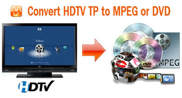 Best Way to Convert HDTV TP to...