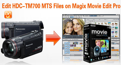 HDC-TM700 on Magix Movie