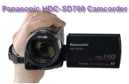 Panasonic HDC-SD700 review