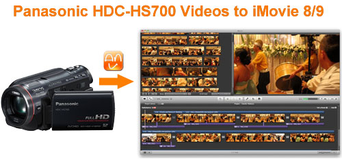 Panasonic HDC-HS700 iMovie