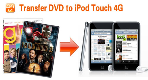Transfer DVD iPod Touch 4G