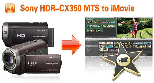 Sony HDR-CX350 MTS iMovie