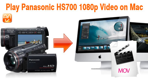 Panasonic HS700 1080p Mac