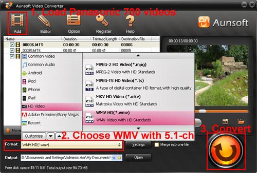 windows media ac3: