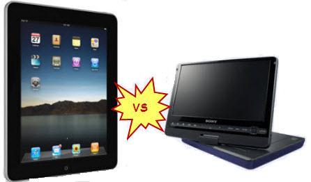 best travel companion apple ipad vs mini dvd player. Black Bedroom Furniture Sets. Home Design Ideas