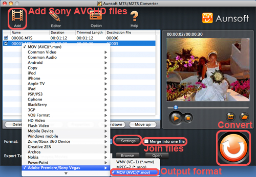 how to play avchd files on mac
