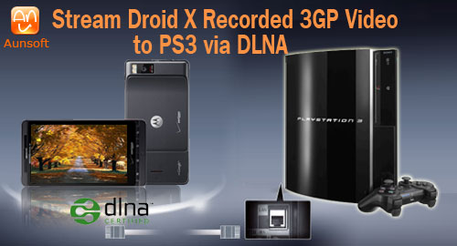 Droid X Movie PS3 Dlna