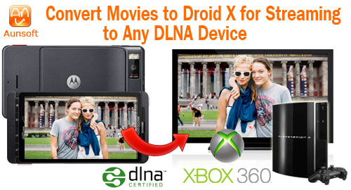 Droid X Video Any DLNA Device