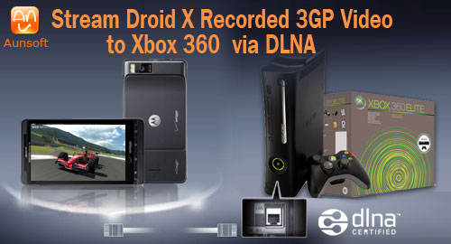 Droid X Video Xbox Dlna